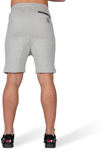 Alabama Drop Crotch Shorts - Gray-3
