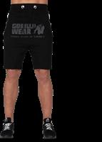 Alabama Drop Crotch Shorts - Black-2