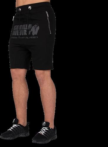 Alabama Drop Crotch Shorts - Black - L