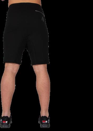 Alabama Drop Crotch Shorts - Black-3