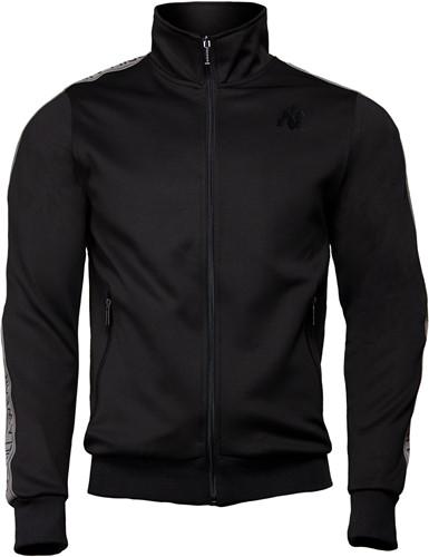 Wellington Track Jacket - Black