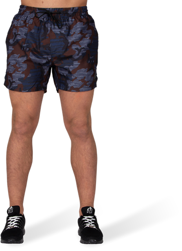 Bailey Shorts - Blue Camo-3