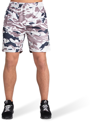 Kansas Shorts - Beige Camo-2