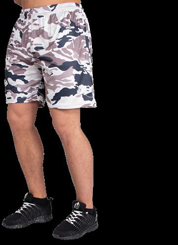 Kansas Shorts - Beige Camo