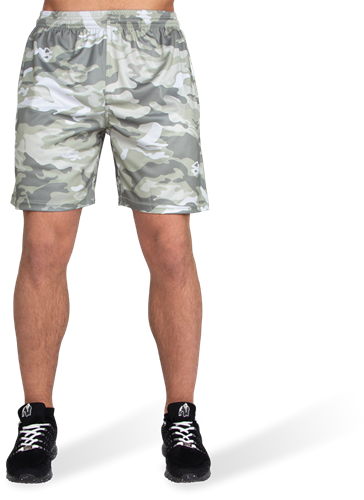 Kansas Shorts - Army Green Camo-2
