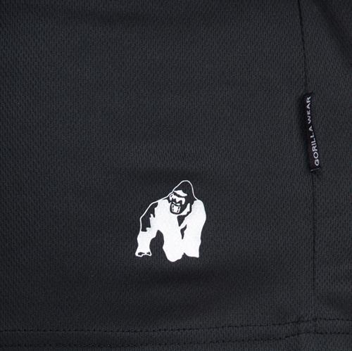 Kansas shorts black close up