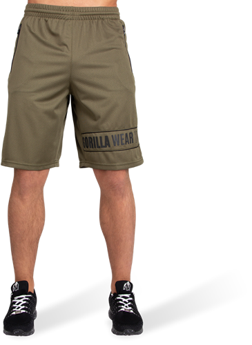 Branson Shorts - Army Green/Black-2