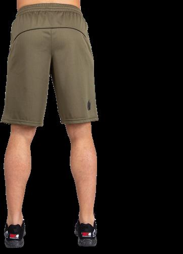 Branson Shorts - Army Green/Black-3