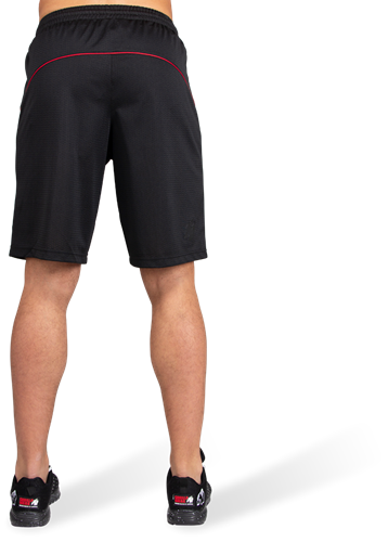 Branson Shorts - Black/Red-3