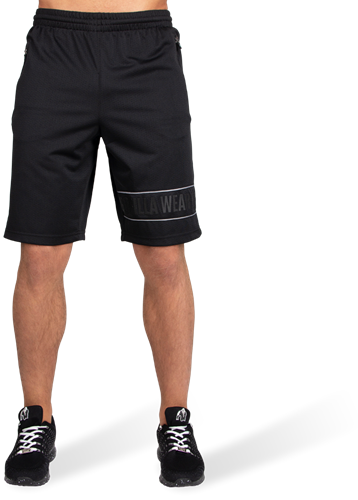 Branson Shorts - Black/Gray-2