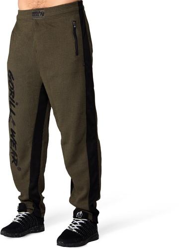 Augustine Old School Pants - Army Green-3