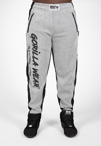 Augustine Old School Pants - Gray-L/XL