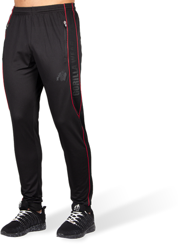 Branson Pants - Black/Red-3