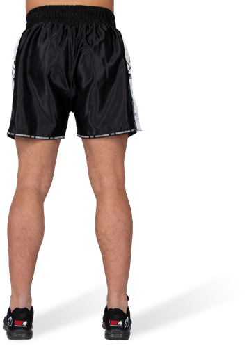 Henderson Muay Thai/Kickboxing Shorts - Black/Gray-3