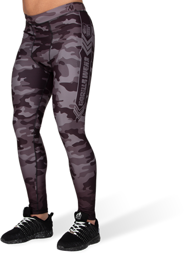 Franklin Men's Tights - Black/Gray Camo