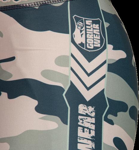 Franklin Shorts Army Green Camo - Detail