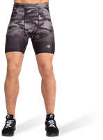 Franklin Shorts - Black/Gray Camo-2