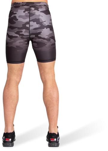 Franklin Shorts - Black/Gray Camo-3