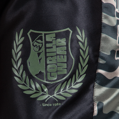 Vaiden Boxing Shorts Army Green Details