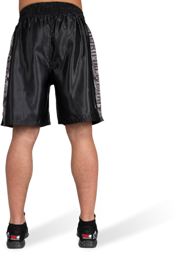 Vaiden Boxing Shorts - Black/Gray Camo-2