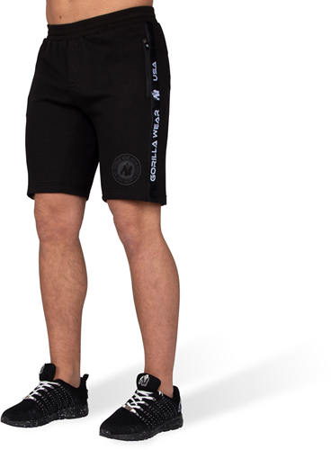 Saint Thomas Sweatshort - Black