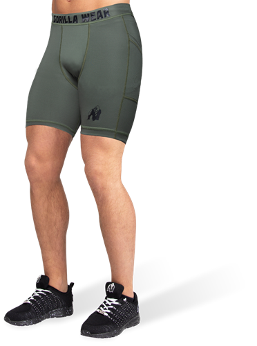 Smart Shorts - Army Green