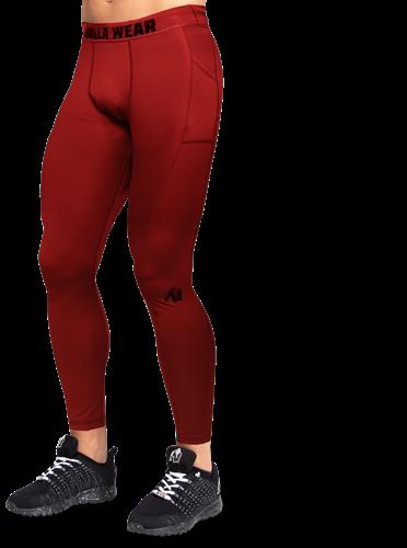 Smart Tights - Burgundy Red - 3XL