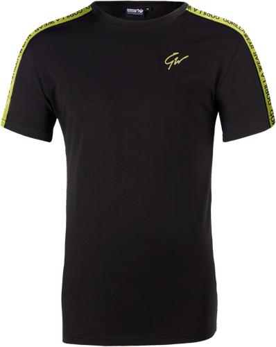 Chester T-shirt - Black/Yellow