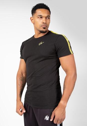 Chester T-shirt - Black/Yellow