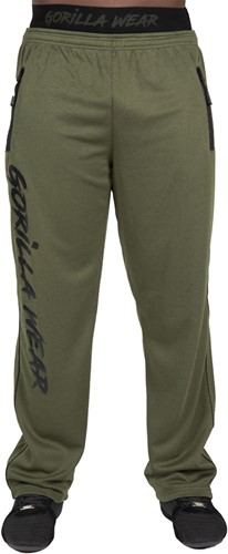 Mercury Mesh Pants - Army Green/Black