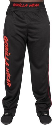 Mercury Mesh Pants - Black/Red