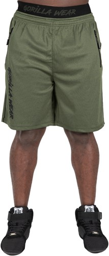 Mercury Mesh Shorts - Army Green/Black