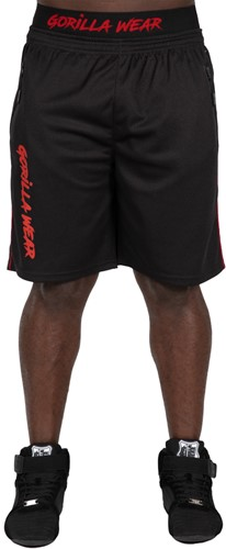 Mercury Mesh Shorts - Black/Red