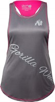 Florida Stringer Tank Top - Gray/Pink
