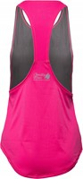 Florida Stringer Tank Top - Gray/Pink-2