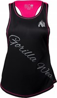 Florida Stringer Tank Top Black/Pink