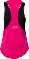 Florida Stringer Tank Top Black/Pink-2