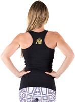 Florence Tank Top - Black/Gold-2