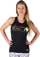 Florence Tank Top - Black/Gold