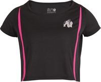 Columbia Crop Top Black/Pink-2