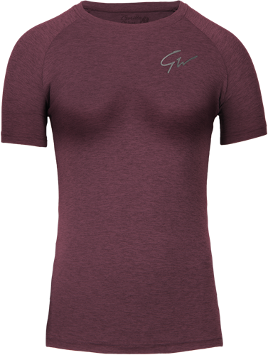 Holly T-shirt - Burgundy Red