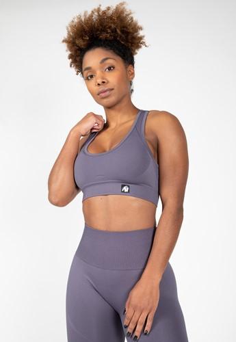 Yava Seamless Sports Bra - Gray