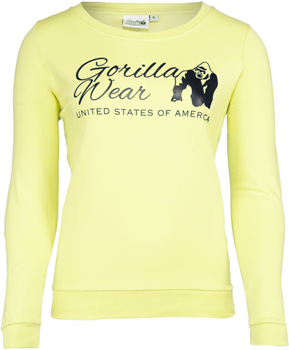 Riviera Sweatshirt - Light Yellow