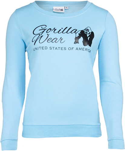 Riviera Sweatshirt - Light Blue