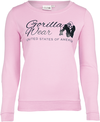 Riviera Sweatshirt - Light Pink