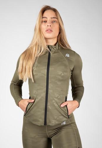 Savannah Jacket - Army Green Camo