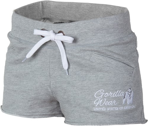 Women's New Jersey Sweat Shorts - Gray