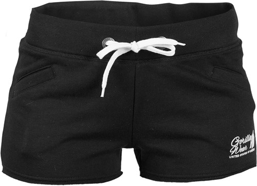 Women's New Jersey Sweat Shorts Black