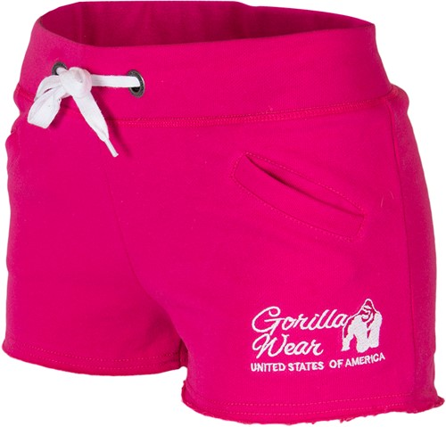 Women's New Jersey Sweat Shorts Pink
