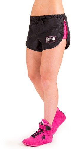 Women's New Mexico Cardio Shorts - Black/Pink